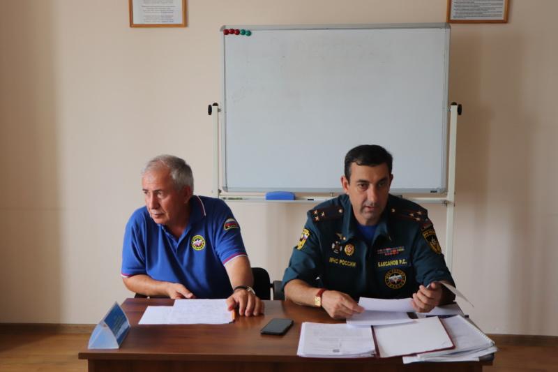 Инструкторско-методические занятия с представителями учреждений региональной сети наблюдения и лабораторного контроля