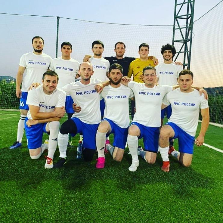Команда «ЦУКС» принимает участие в чемпионате ЛФЛ.